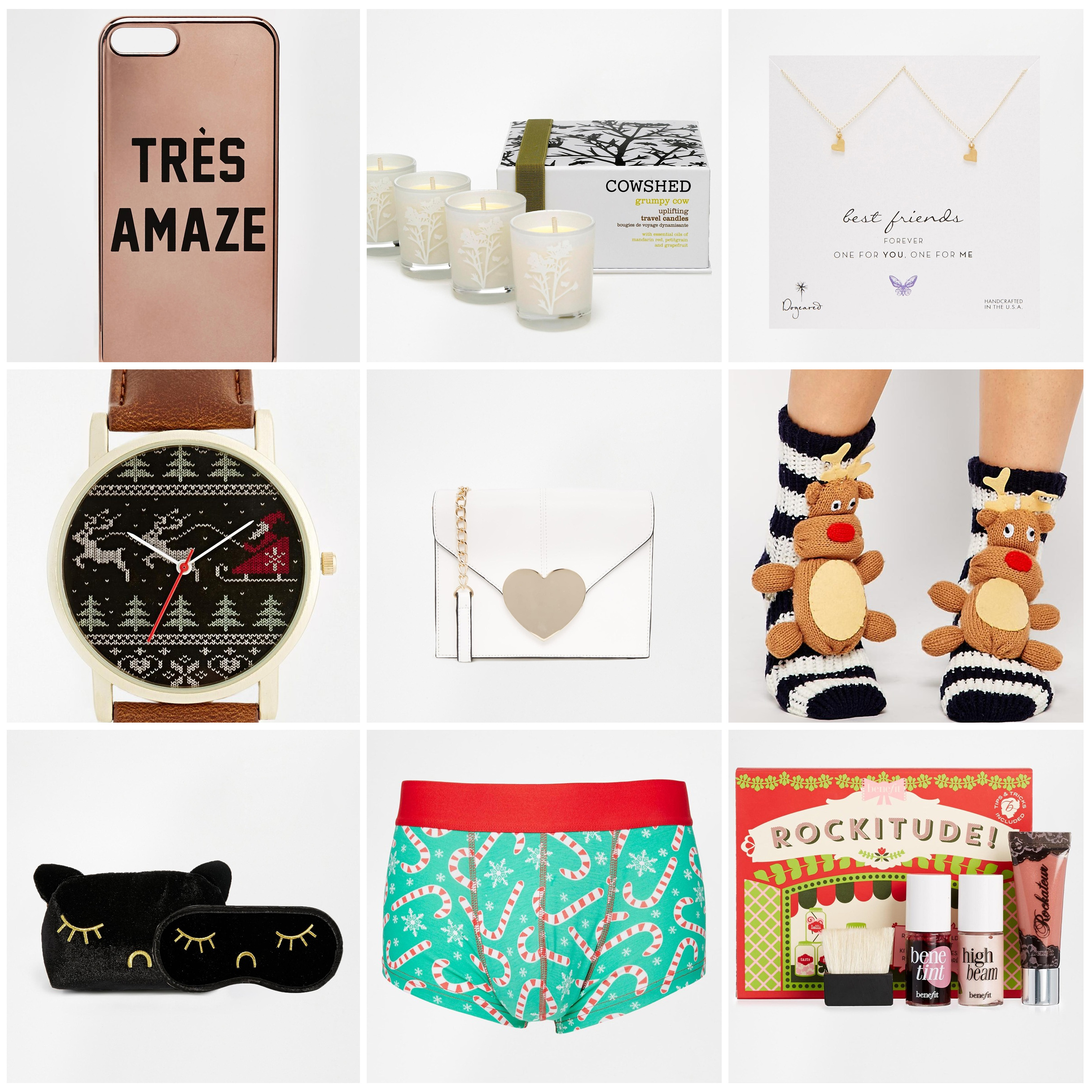 Gifts Guide and ASOS discount code