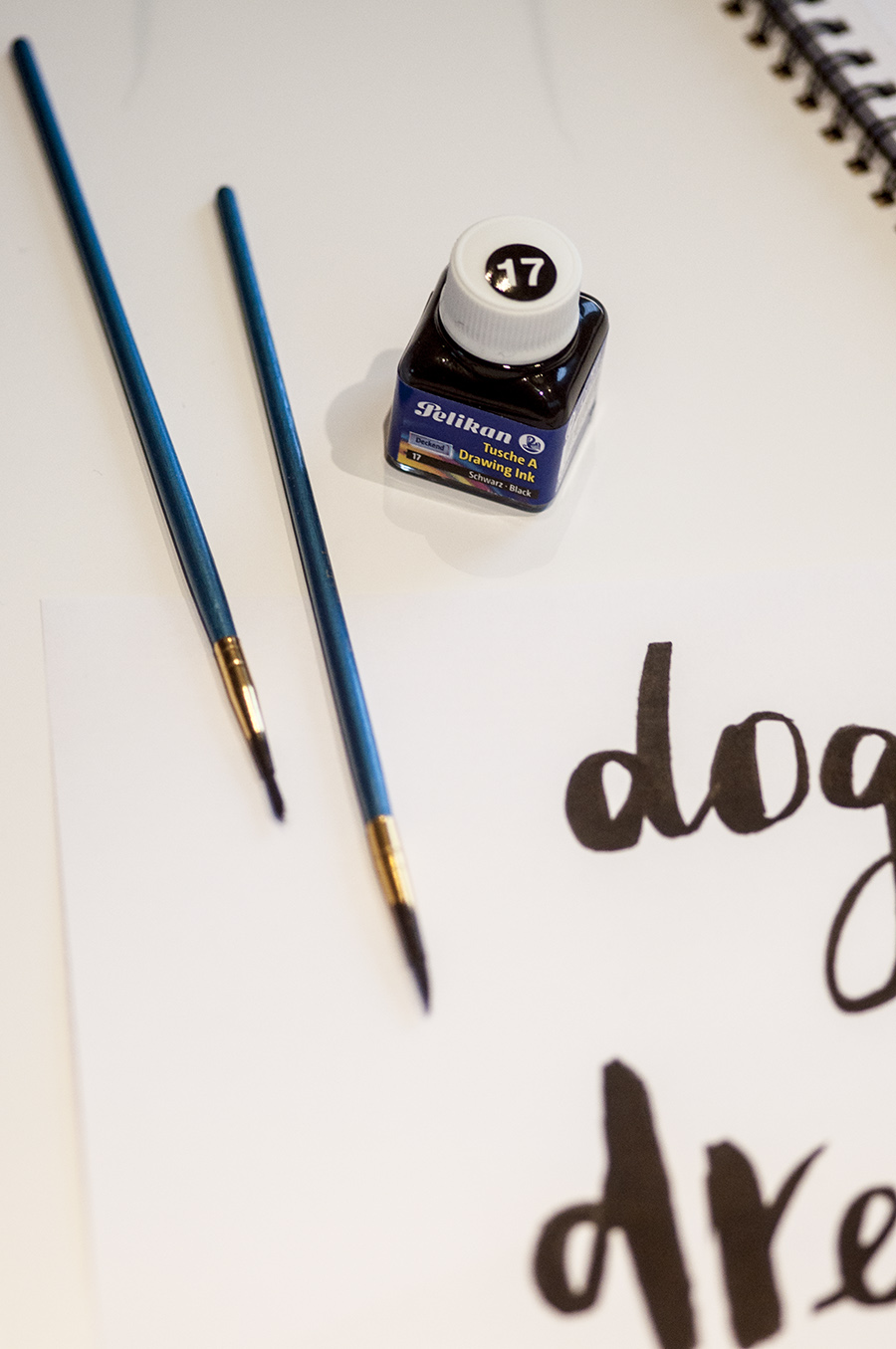 How to Create your own Blog Header in your Own Handwriting: a simple step tutorial on Dogs and Dresses.com