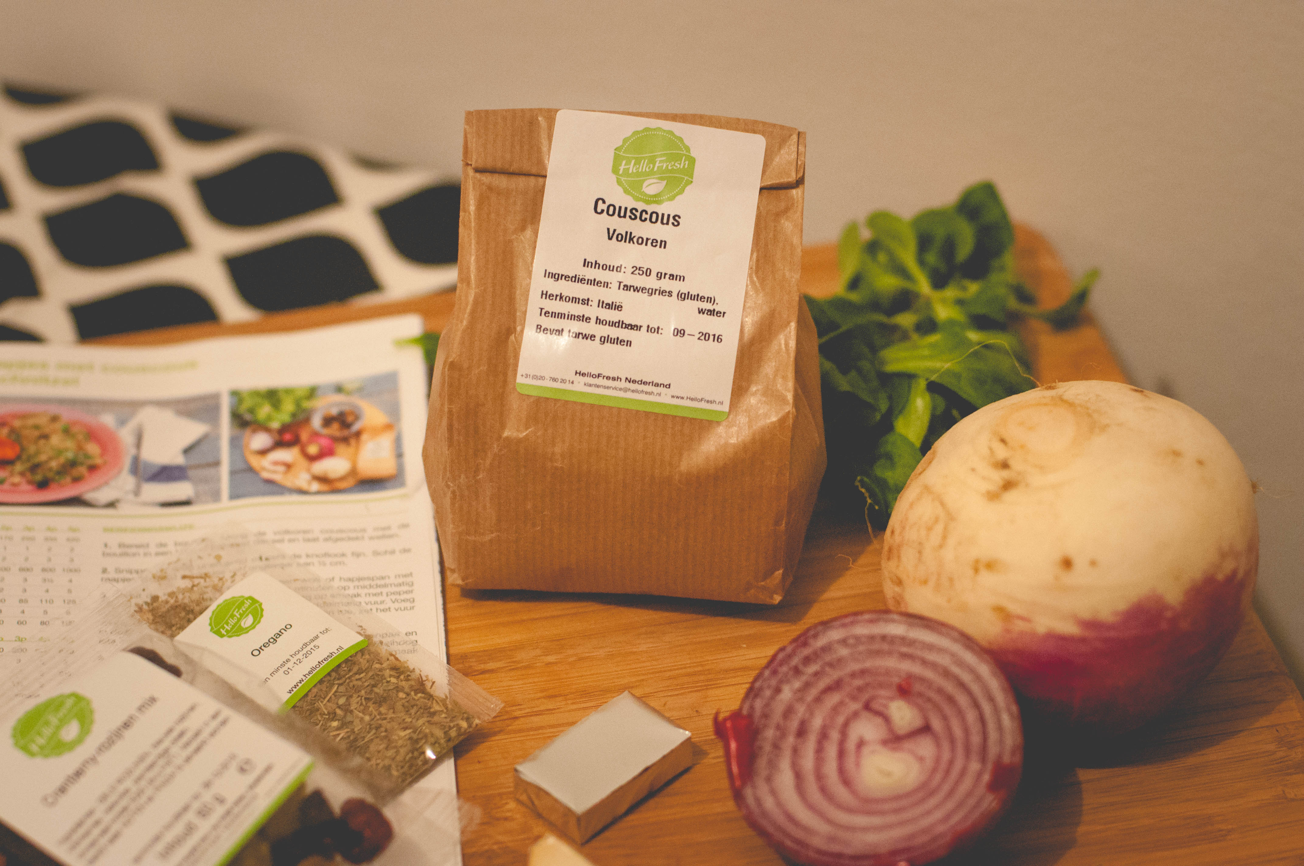 Dogs and Dresses HelloFresh food box 2015-6