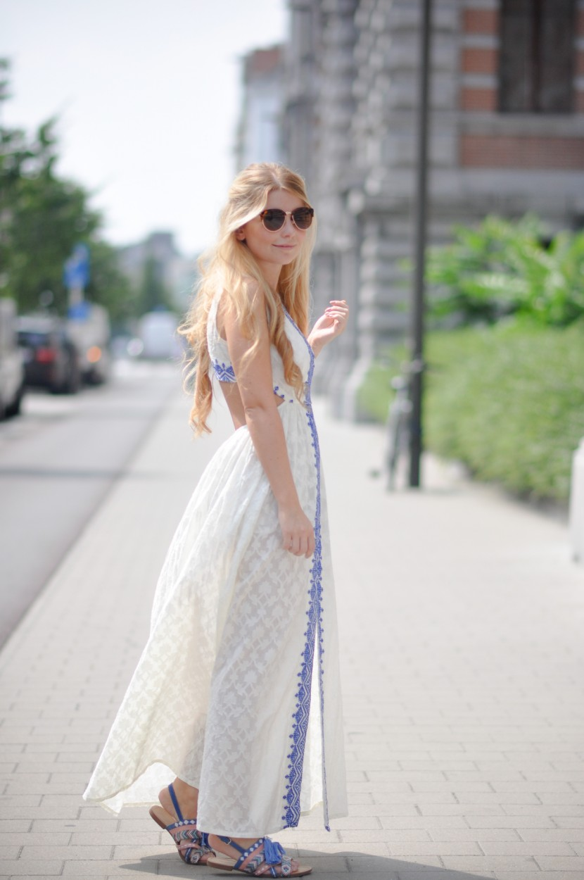 Dogs and Dresses Festival Maxi Dress_